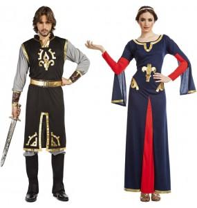 Pareja Templarios Medievales