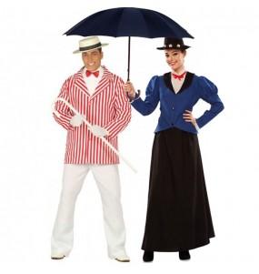 Pareja Bert y Mary Poppins