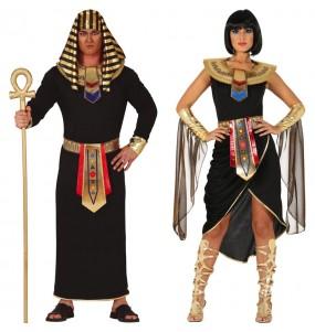 Pareja Egipcios Blancos