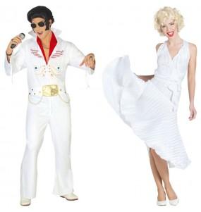 Pareja Elvis y Marilyn
