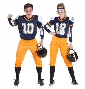 Pareja Fútbol Americano NFL