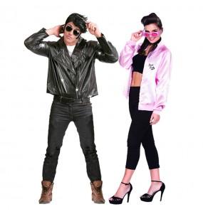 Pareja Danny y Sandy Grease
