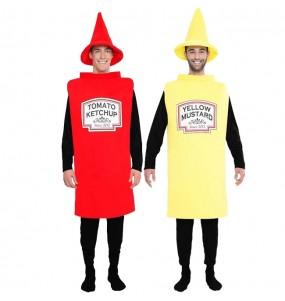 Pareja Ketchup y Mostaza