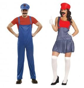 Pareja Mario Bros