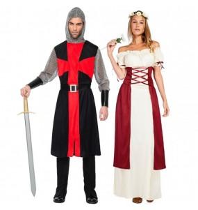 Pareja Medievales adulto