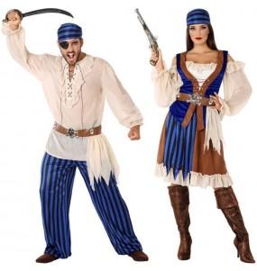 Pareja Piratas Caribeños