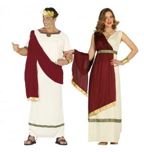 Pareja Romanos Antigua Roma adulto