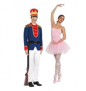 Pareja Soldadito Plomo y Bailarina