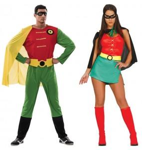 Pareja Superhéroes Robin