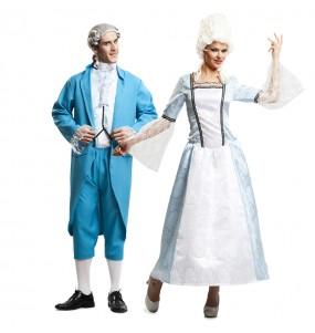 Pareja Caballero y Dama Versalles