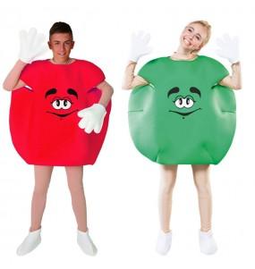 Pareja Caramelos Rojo y Verde