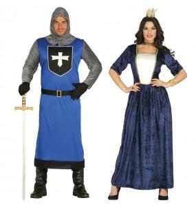 Pareja Cruzado y Reina Medieval