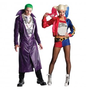 Pareja Joker & Harley Quinn