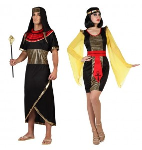 Pareja Egipcios Negros