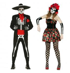 Pareja Esqueletos Mexicanos