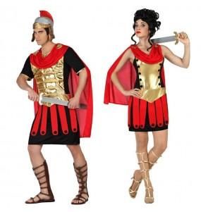 Pareja Guerreros Romanos