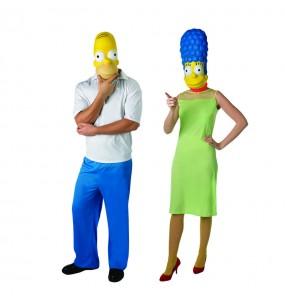 Pareja Homer y Marge Simpson