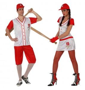 Pareja Jugadores de Béisbol