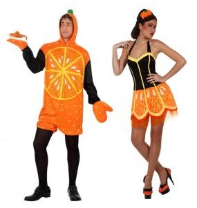Pareja Naranjas