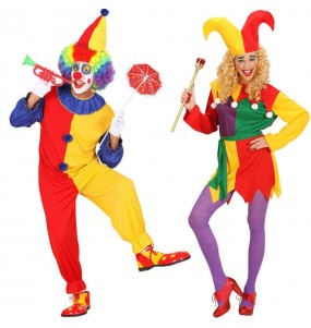 Pareja Payasos Clown