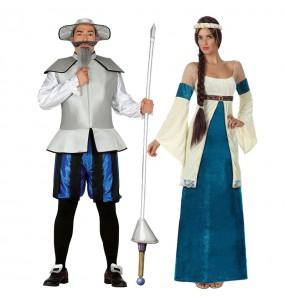 Pareja Quijote y Dulcinea Azules