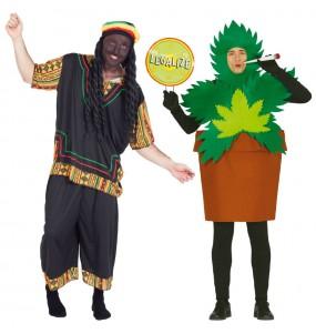 Pareja Rastafaris