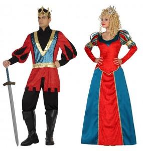 Pareja Reyes Medievales Lujo