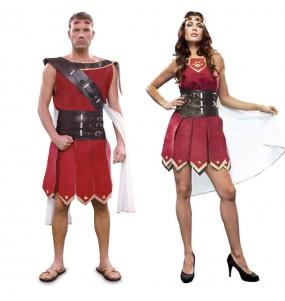 Pareja Romanos Rojos adulto