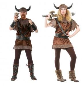 Pareja Vikingos o Bárbaros del Norte