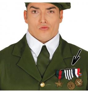 Pasador con Condecoraciones Militares