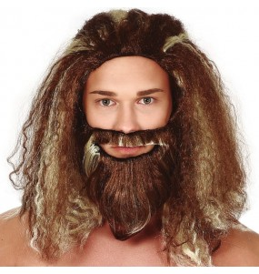 Peluca Aquaman con barba