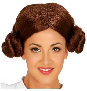 Peluca de Princesa Leia