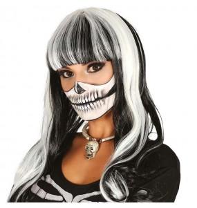 Peluca Esqueleto Mujer