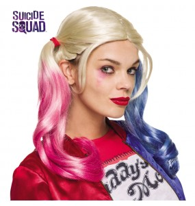 Peluca Harley Quinn mujer
