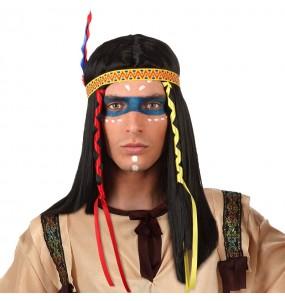 Peluca Indio Americano