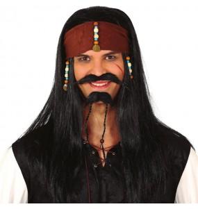 Peluca Pirata Jack Sparrow