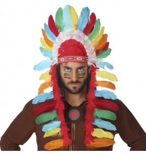 Penacho Indio Multicolor