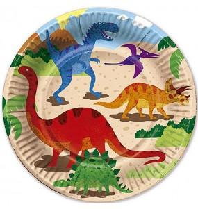 Platos de Dinosaurio de 23 cm