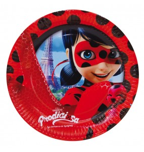 Platos grandes Cumpleaños Ladybug®
