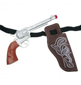 Revolver con funda para Cowboy