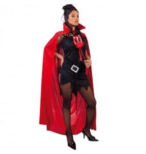 Disfraz de Capa Terciopelo Rojo