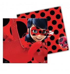 Servilletas Cumpleaños Ladybug®