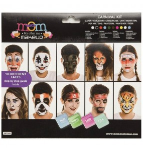 Paleta Maquillaje de Carnaval Adulto
