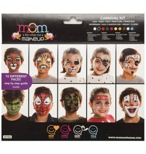 Paleta Maquillaje de Carnaval Infantil