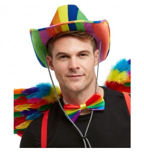 Sombrero Cowboy del orgullo Gay