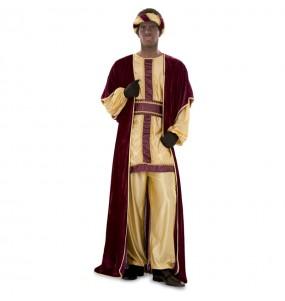 disfraz rey mago Baltasar adulto