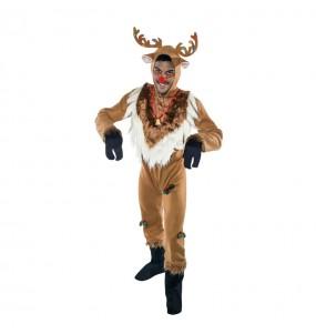Disfraz de Reno Navideño Hombre