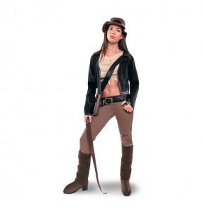 disfraz arqueóloga indiana jones adulto