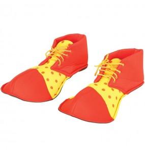 Zapatos Payaso Rojos y amarillos