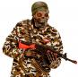 Máscara Soldado Zombi Halloween